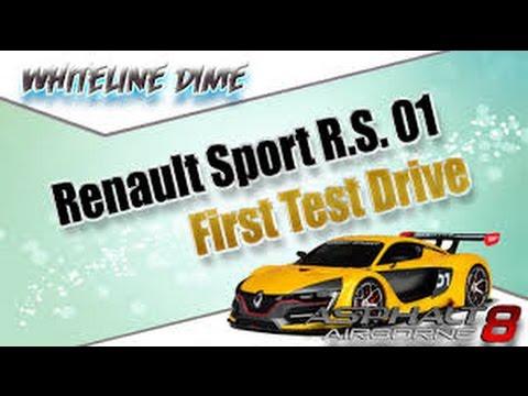 Asphalt 8 Renault Sport R S 1 0 MAX PRO