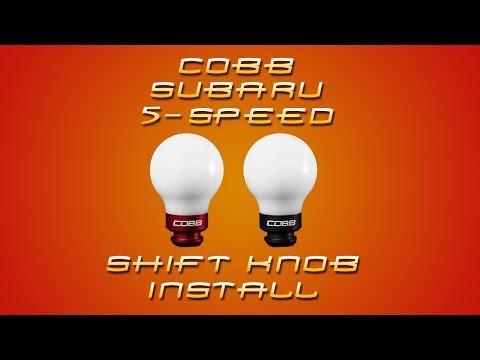 COBB Subaru 5-Speed Shift Knob Install Video