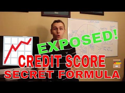 The Credit Score Secret Formula EXPOSED!