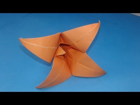 How to make an origami Lily!Origami Paper Lily Step by Step Instructions!!How to fold Origami Lily!!