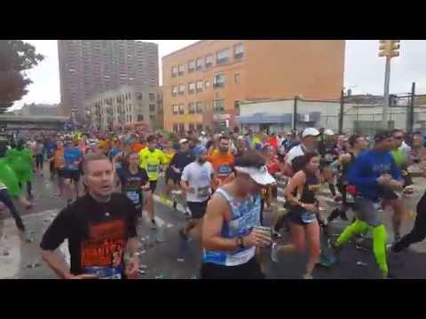 New York City Marathon 2015 in Brooklyn