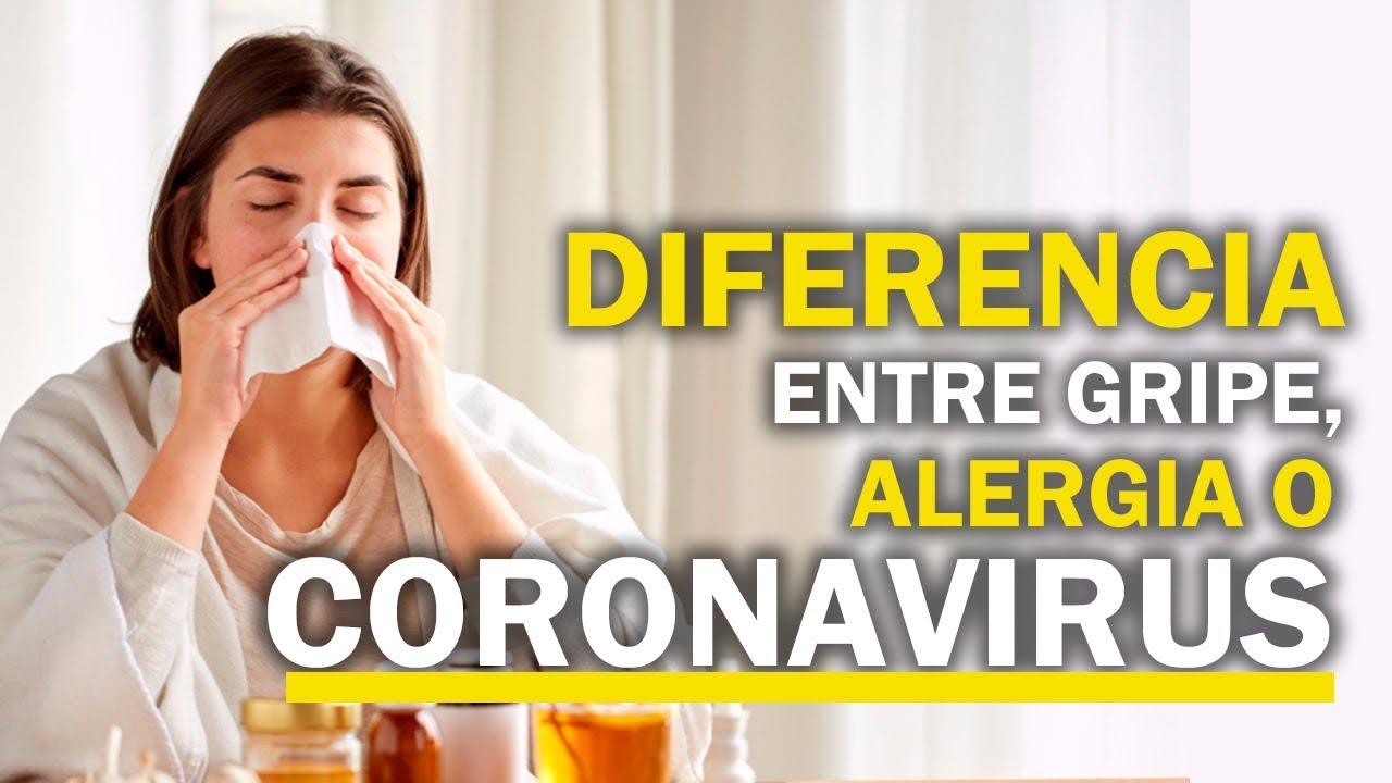 ¿Cómo diferenciar entre el resfrío, gripe, alergia y COVID-19?