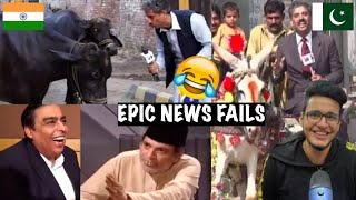 Funniest News Reporting Fails Ever #2