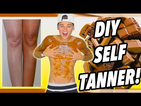 DIY Edible Self-Tanner For Summer! How To Get A Spray Tan! *IT WORKS*