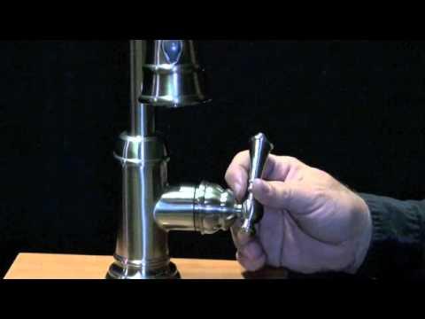 Simple faucet repairs,cartridge,handle and spray head. Artisan