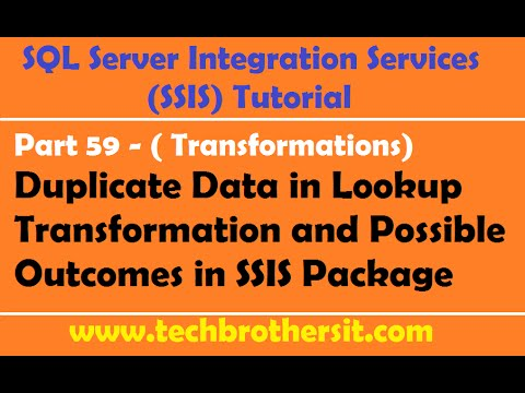 SSIS Tutorial Part 59-Duplicate Data in Lookup Transformation Reference Data Set & Possible Outcomes
