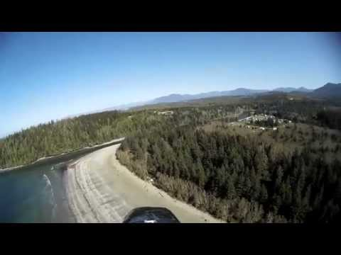 Pachena Bay Campground Aerial FPV Tour April 12, 2014 RAW footage