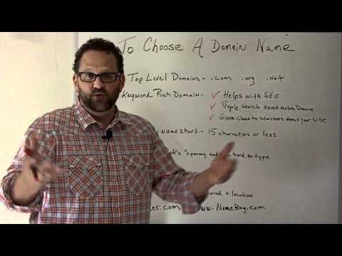 How To Choose A Domain Name For Your Website-The X's And O's Of SEO-Episode 8