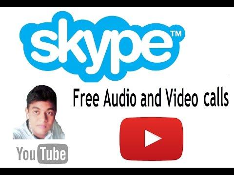 FREE Video & Audio Calling Skype bangla toutorial 2016