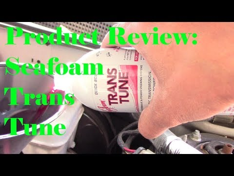 Product Review: Sea Foam Transmission Fluid Treatment