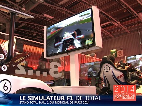 Live Mondial Auto 2014 : Simulateurs F1 Total