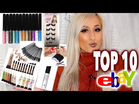THE ULTIMATE TOP 10 eBay MAKEUP YOU HAVE TO BUY! 👍👍👍 // DYNA