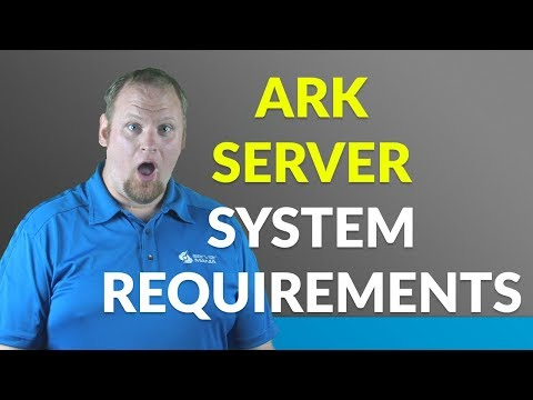 What are the requirements for running an ARK dedicated server?