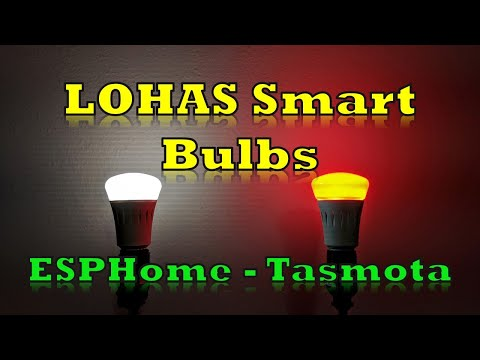 LOHAS Smart Bulbs and a cool white/warm white bulb configured with