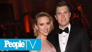 Scarlett Johansson And SNL's Colin Jost Are Engaged After Two Years Of Dating | PeopleTV