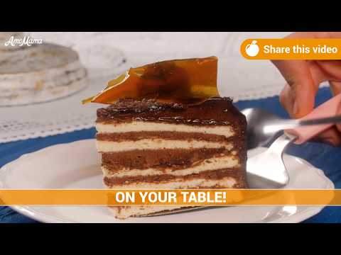 How to cook a Dobos cake - a special dessert with over 100 years history