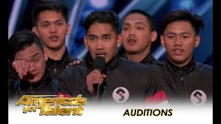 Junior New System: Filpino Dance Group SHOCK America With Their Skill! | America