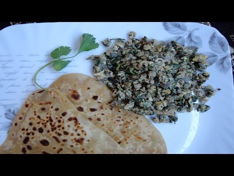 Egg Bhurji Recipe - Egg Bhurji with Black Pepper Powder and Coriander Leaves - Easy Breakfast Recipe
