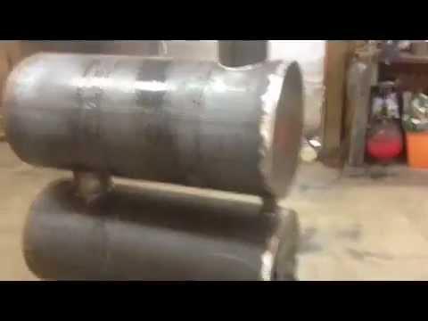 Double barrel construction