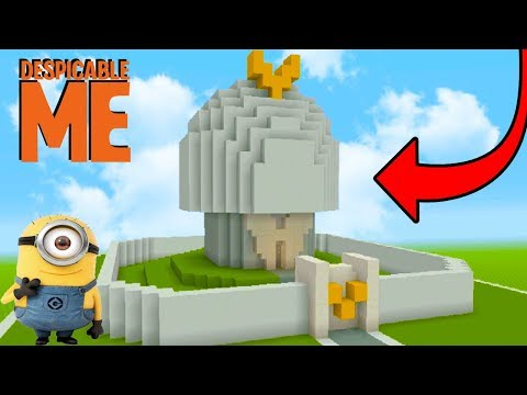 Minecraft Tutorial: How To Make Vectors Fortress from Despicable Me