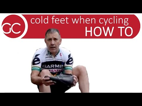 How To: Beat Cold Feet While Cycling