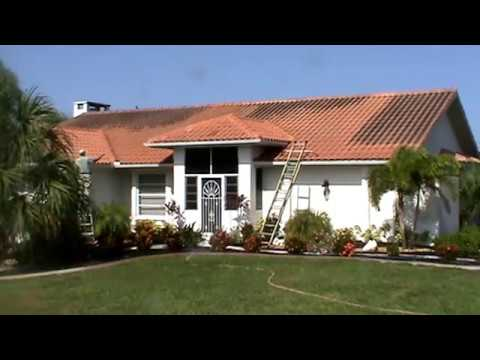 Chuck Bergman Roof Cleaning Tile Part 1 { 941-698-1959 } 33981