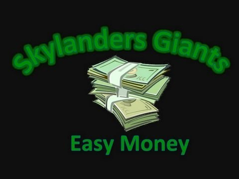 How to get Easy Money - Skylanders
