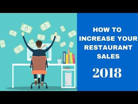 How to Increase your Restaurant Sales - SalesboxAI