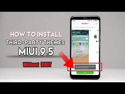 How To Install Third-Party MIUI Themes On MIUI 9.5 [NO ROOT]