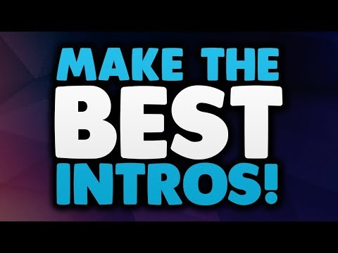 How to Make Your Own Intro or Outro For Free!!