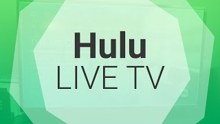 Hulu Live TV is finally here!