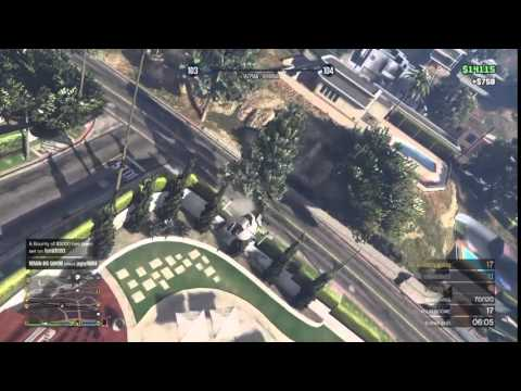 GTA Online: Incredible Helicopter Aerobatic Maneuver!