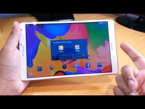 How to Take Screenshot on Samsung Galaxy Tab S