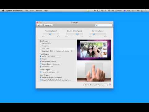 how to reverse mouse settings   MAC