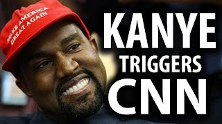 Kanye West Triggers CNN