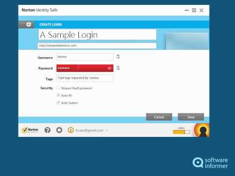 Norton Identity Safe video tutorial