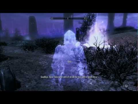 Skyrim Dawnguard: How To Find Arvak Horse Skull in Soul Cairin