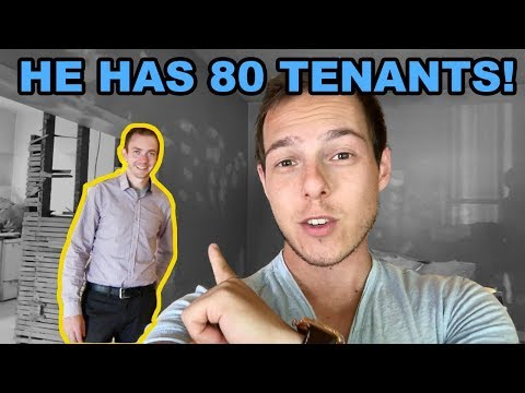 The Real Estate Investor who has over 80 tenants paying him EVERY MONTH!