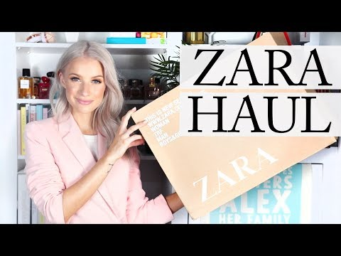 ZARA UNBOXING, HAUL AND TRY ON   Inthefrow