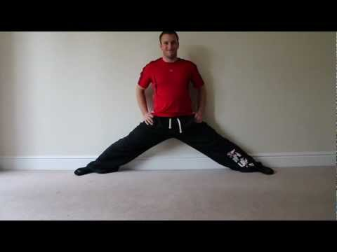 Stretching for the Splits - week 1