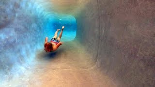 Swimming in a Water Tunnel