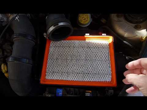 PT Cruiser BATTERY Replacement ...TAKE extra CARE w/ air filter housing [on turbo engine]