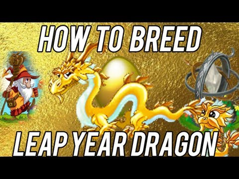 ULTIMATE How to Breed Leap Year Dragon DragonVale! [LIMITED]