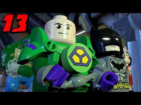 Lego Batman 3 Beyond Gotham Let's Play Part 13 Stop Brainiac