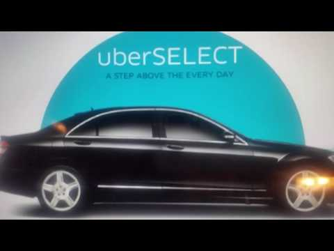 Uber Select vehicle requirements