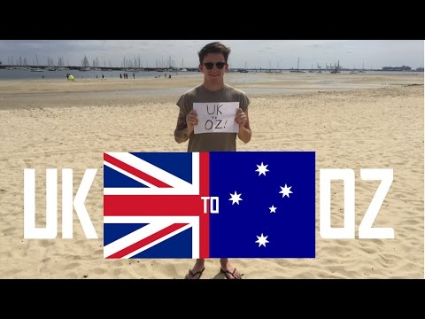 Moving to Australia - UK to OZ!