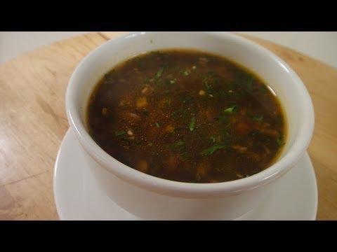 Corn and Pepper Soup | Sanjeev Kapoor Khazana