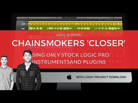 Making A Beat: 'Closer' (Remake) / Chainsmokers Tutorial / Logic Pro Music Production