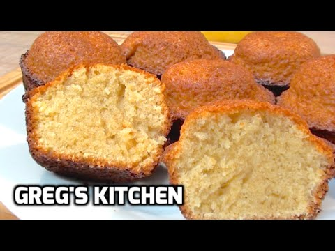 HOW TO MAKE MINI MUFFIN POUND CUP CAKES - Greg's Kitchen