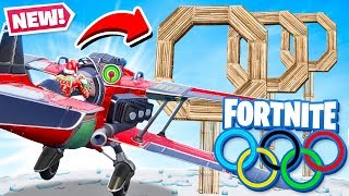 *NEW* FLYING PLANE OLYMPICS Game Modes in Fortnite Battle Royale